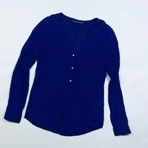 Zara long-sleeves blue